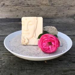Buddha Seifenstück handgemacht Waschkultur Seifenmanufaktur München