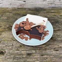 Schokoladenseifen mit natürlichen Inhaltsstoffen umweltfreundlich verpackt. Waschkultur Seifenmanufaktur München