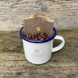 Kaffeetscherl Münchner Kaffeeseife handgemacht Waschkultur Seifenmanufaktur München