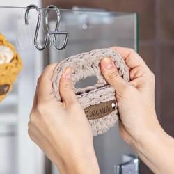 Seifenliebling Seifenkörbchen aus Recyclingfaser handgemacht Waschkultur München Seifenmanufaktur
