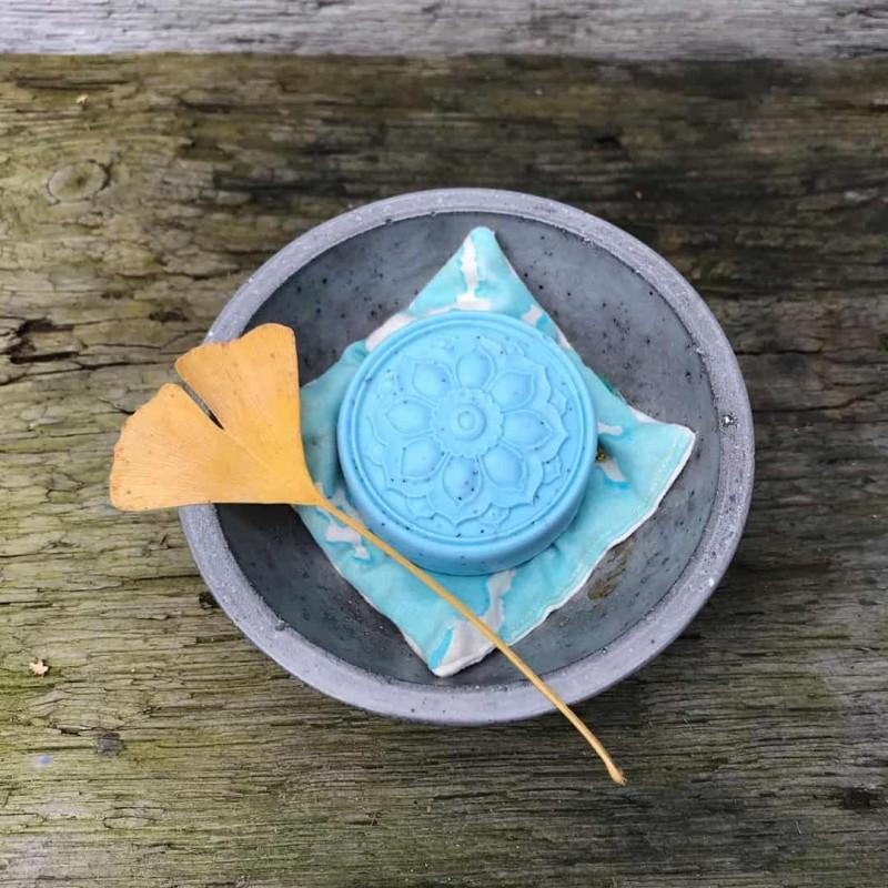 Monaco Mandala handgemachte Narturseife Waschkultur Seifenmanufaktur