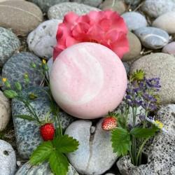 Handgemachte Naturseife Whipped Soap Kirschblüte Waschkultur Seifenmanfaktur ohne Zusatzstoffe