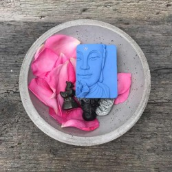 Buddha Schafmilchseife handgemacht Waschkultur München Seifenmanufaktur Bayern