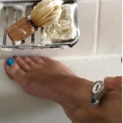 Rasierseife für Frauenbeine. Handgemachte Rasierseife Seifenmanufaktur München